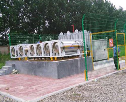 LNG瓶组点供设备