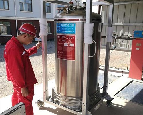 北京液化LNG供气系统