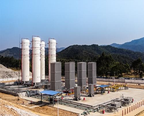 天然气气化站